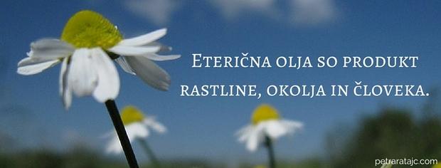 EO - produkt rastline okolja in cloveka
